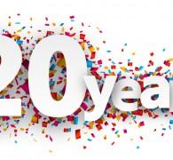 20 jarig jubileum!