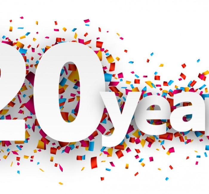 jarig 20 20 jarig jubileum! | Vreeker Begraafplaatsservice jarig 20