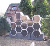 Honingraat Urnenmuur