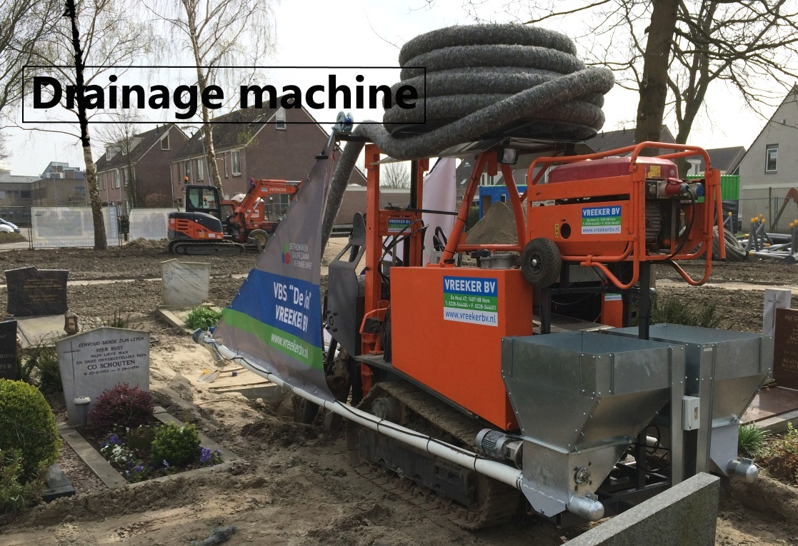 Drainage machin